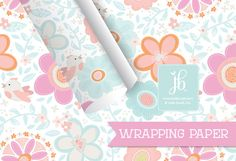 The new collection of Julie Bluet wrapping paper features a fun and vibrant array of patterns and characters. Click to take a peek!