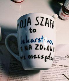 My wardrobe is my medicine, so I don't save on health (writing in Polish).
