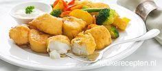 Deze gefrituurde vis snack van kabeljauw maak je makkelijk zelf met dit recept voor het beslag