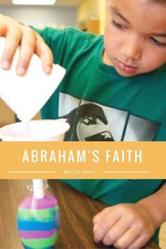 Try this sandy craft to show kids God keeps his promises.