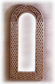 Celtic mirror frame