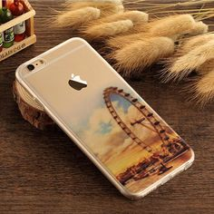 Tower Scenery Pattern Soft TPU Silicone Case For iPhone 5S 5 SE 6 6S 7 Plus 639c1a497f
