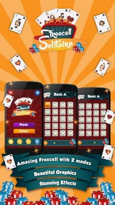 Freecell Solitaire is another classic card games included with Windows, and is now available Android devices