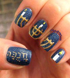 Hanukkah Sameach (happy haunkkah)!