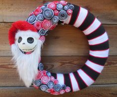 Jack Skellington as Sandy Claws The by HalloQweenCreations on Etsy