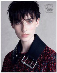 ee3f39a38417 Julia Bergshoeff by Patrick Demarchelier - British Vogue September 2015  Vogue Uk