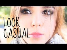 PEINADO+MAQUILLAJE+OUTFIT ♥CASUAL -Yuya - YouTube
