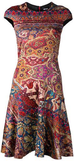 Just  Cavalli  Persian Print Dress @Lyst