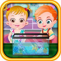 Goldfish joins the pet family of Baby Hazel. She need to shop for fish food and the supplies required for making a fish tank. Help Hazel in these activities. https://play.google.com/store/apps/details?id=air.org.axisentertainment.BabyHazelGoldfish&hl=en