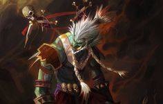 world of warcraft troll shaman wow shaman troll totem wallpapers