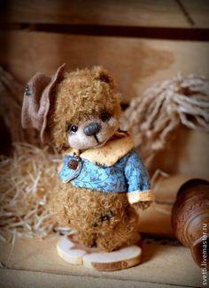 Мишки Тедди ручной работы: Потапушка (12 см). Handmade.