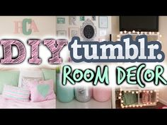 ▶ DIY Tumblr Inspired Room Decor! Cute+ Cheap! - YouTube