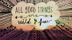 ➳➳➳☮ American Hippie Quotes ~ All good things are wild and free Cover Pics For Facebook, Fb Cover Photos, Facebook Timeline Covers, Facebook Image, Timeline Photos, Cover Quotes, Cover Photo Quotes, Quotes Quotes, Neon Quotes
