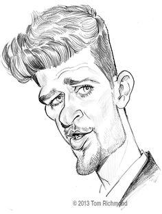 Sketch o'the Week- Robin Thicke!