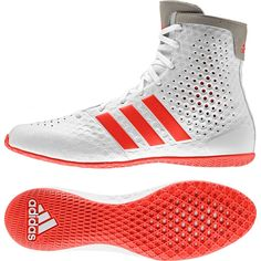 buy online ae25e 756d5 Buy Adidas KO Legend White Boxing Boots from Official Stockist Fight Co Boxing  Boots, Kos