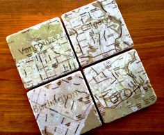 Just dropped this order off at the post office! #SpecialDelivery #CustomCoasters #Cartography #Maps #Canada