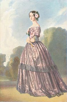 1848 1850 - Francisca de Bragança, Princess of Joienville, nee Princess of Brasil