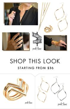 """""""Blogger Style"""" by parklanejewelry on Polyvore featuring Park Lane, parklanejewelry, eline, elivefromtheredcarpet, Collection2015 and enetwork"""