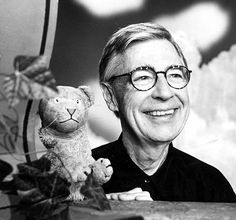Fred Rogers. This guy.