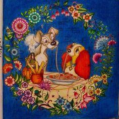 jardim secreto desenhos coloridos