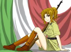 Military Girls - Part Italy Anime Military, Military Girl, Comic Pictures, Manga Pictures, Anime Uniform, Image Mix, Girls Frontline, Anime Fantasy, Fantasy Character Design