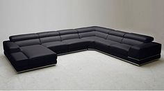 The sectional is like this but has wooden square, block platforms rather that metal.