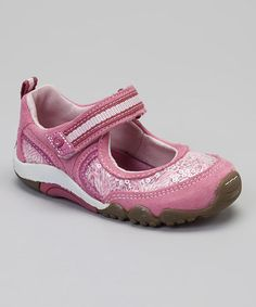 Take a look at this Rose Petal Sequin SRT Dana Mary Jane by Stride Rite on #zulily