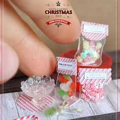 2017.12 Miniature Sugar Christmas ♡ ♡ By Valentina Manzo