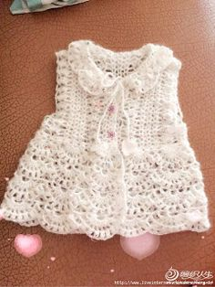 |How to crochet|: Crochet baby dress| for free |crochet Patterns| 19...