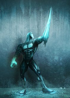 """Well this is the finish version of the """"Glacius"""" character from Killer Instinct game. Description from deviantart.com. I searched for this on bing.com/images"""