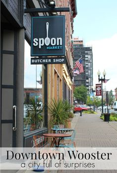 Downtown Wooster (pronounced WUSS tur, not WOO stir) offers a swanky boutique hotel, high-end shopping, and a culinary experience to make the foodie in your life drool and does so with a small town feel.