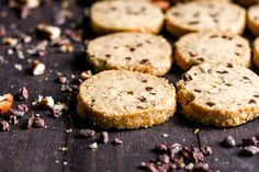 A cherished and easy shortbread cookie, these Cocoa Nibby Pecan Shortbread Cookies make a generous homemade gift or a festive treat to welcome guests.