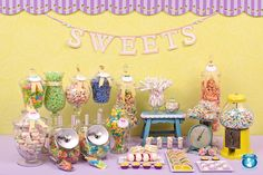 Candy Party fun display #candy #party