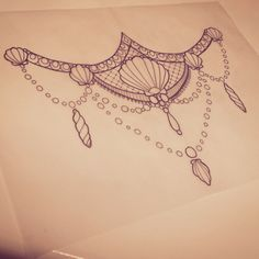 So much love for this mermaid tattoo design #mermaid #tattoo #sternum