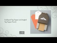 Tag Topper Punches by Stampin' Up!