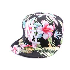 Casquette Snapback NY version Florale