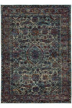 Luna Area Rug - Synthetic Rugs - Machine-made Rugs - Traditional Rugs | HomeDecorators.com
