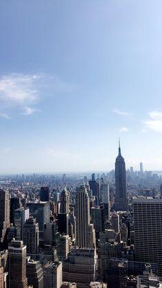 Top of the rock #newyork#topoftherock