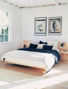 How to Make a Modern Bed - Apartment34