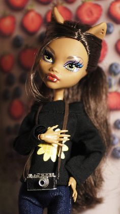 Monster High Clawdeen Wolf School Out custom doll by i1473, via Flickr