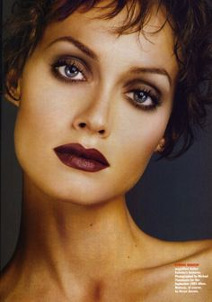 Retro Makeup From the archives - Kevyn Aucoin, early fall - 1990s Makeup, 90s Makeup Look, Retro Makeup, Vintage Makeup, Glam Makeup, Makeup Inspo, Makeup Inspiration, Makeup Looks, Eye Makeup