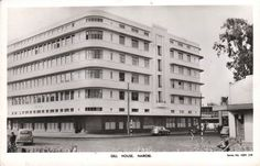 Gill House Nairobi Nairobi City, East Africa, Capital City, Kenya, Multi Story Building, Postcards, House, Vintage, Home