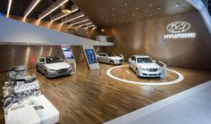 Hyundai at the 2015 Los Angeles Auto Show on Behance