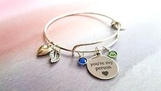 youre my person bracelet best selling items birthstone