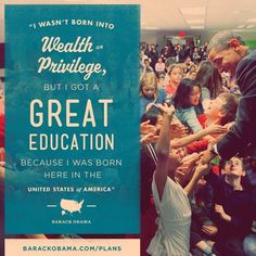 Affordable education is a major part of the President's plan to keep America moving forward: http://OFA.BO/yLnaTd