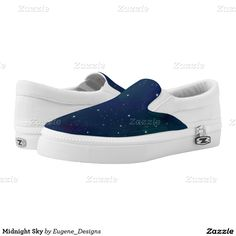 Midnight Sky Printed Shoes