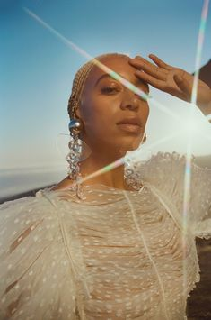 Solange by Petra Collins for Glamour December Source: Solange Knowles, Beyonce, Petra Collins, Glamour Magazine, Poses, Black Girl Magic, Editorial Photography, Photography Magazine, Photography Ideas