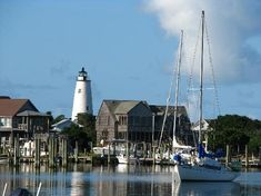 Ocracoke Island, NC. One of our fave places to go, especially in the off season. On the Outer Banks, accessible by ferry. We like to stay at Edward's.