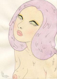 Sputnik Sweetheart original drawing by wishcandy on Etsy,