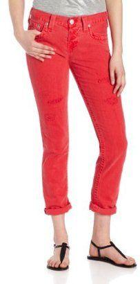 True Religion - Women s Brianna #15Things #fashion #style #trending #coloredjeans #truereligion